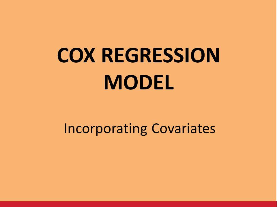Incorporating Covariates