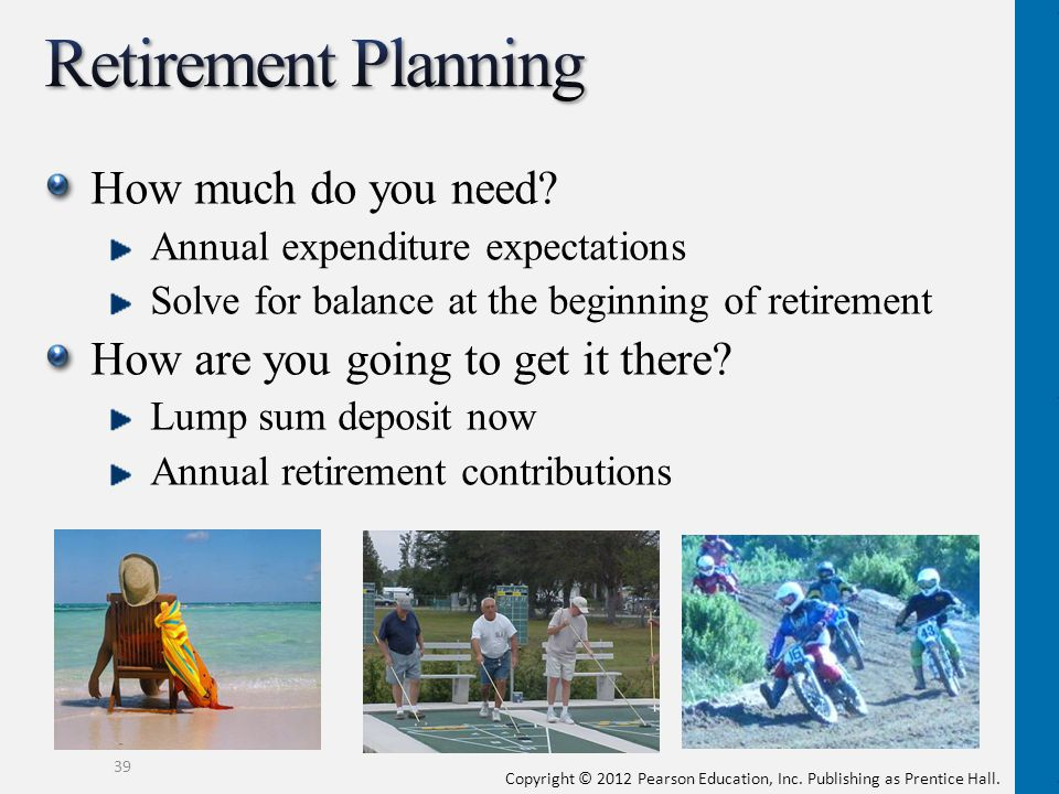 Retirement Planning How much do you need