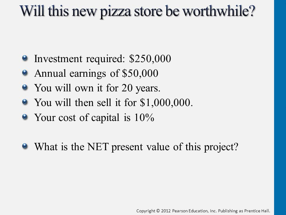 Will this new pizza store be worthwhile