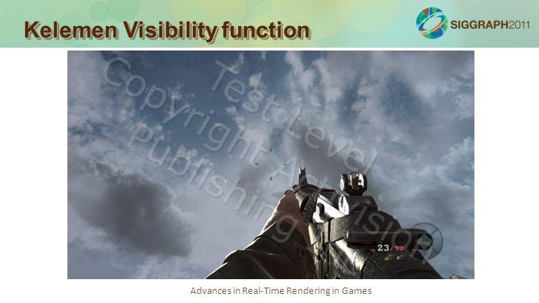Kelemen Visibility function