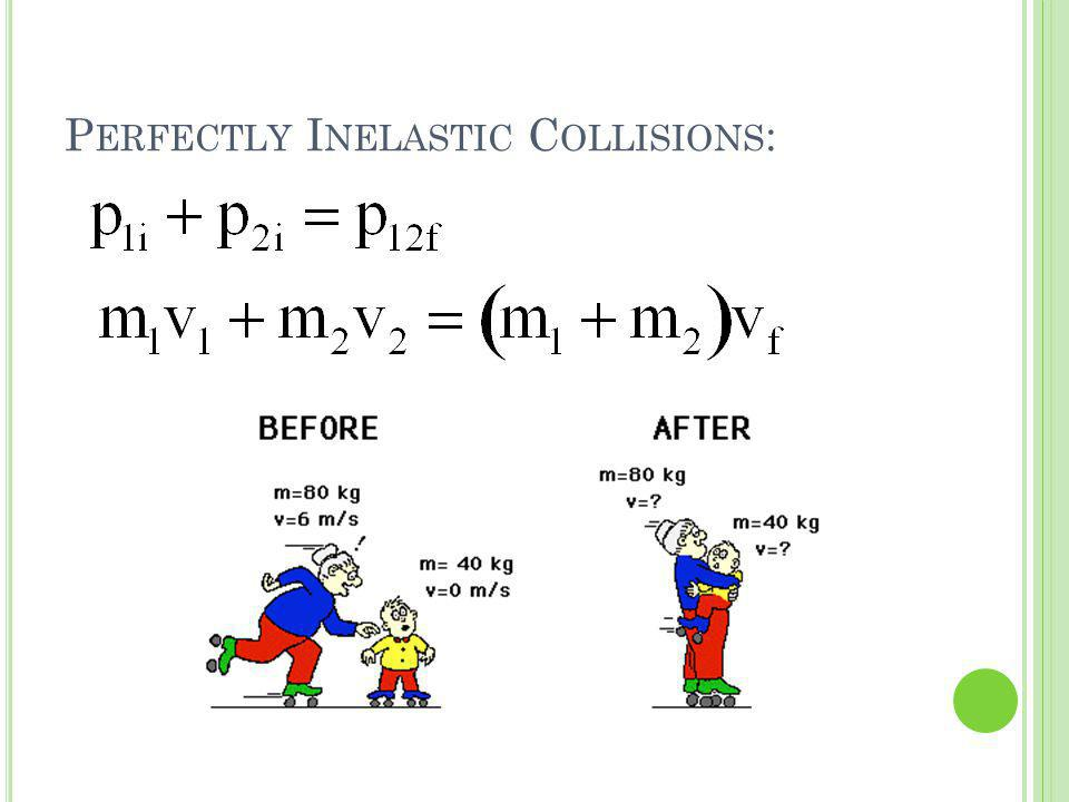 Perfectly Inelastic Collisions: