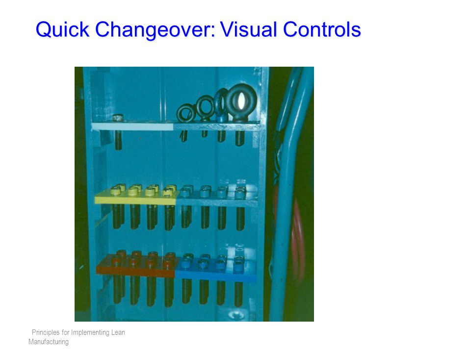 Quick Changeover: Visual Controls