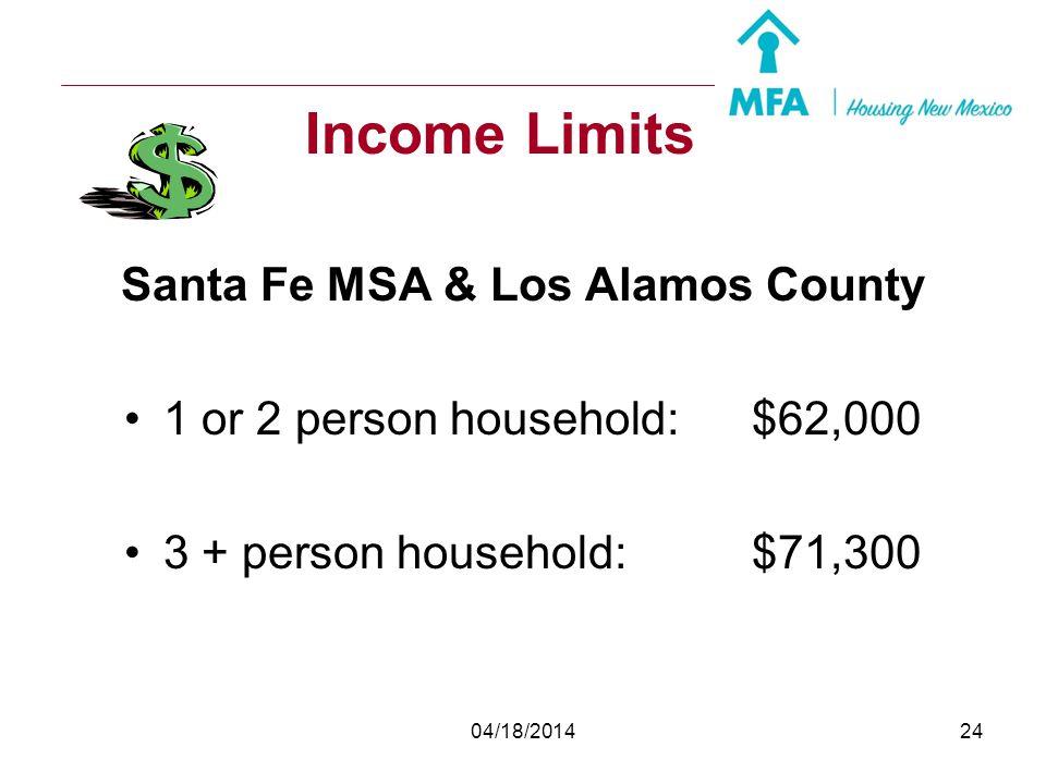 Santa Fe MSA & Los Alamos County