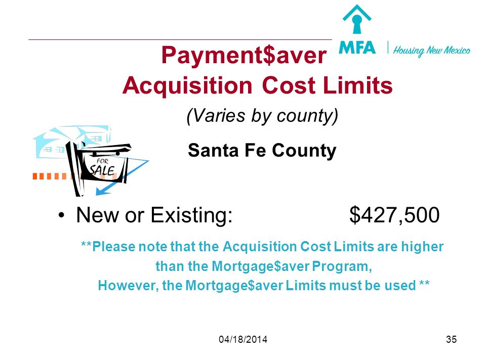Payment$aver Acquisition Cost Limits