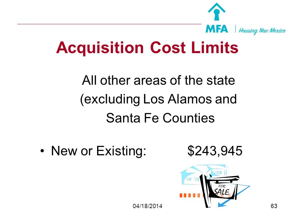 Acquisition Cost Limits