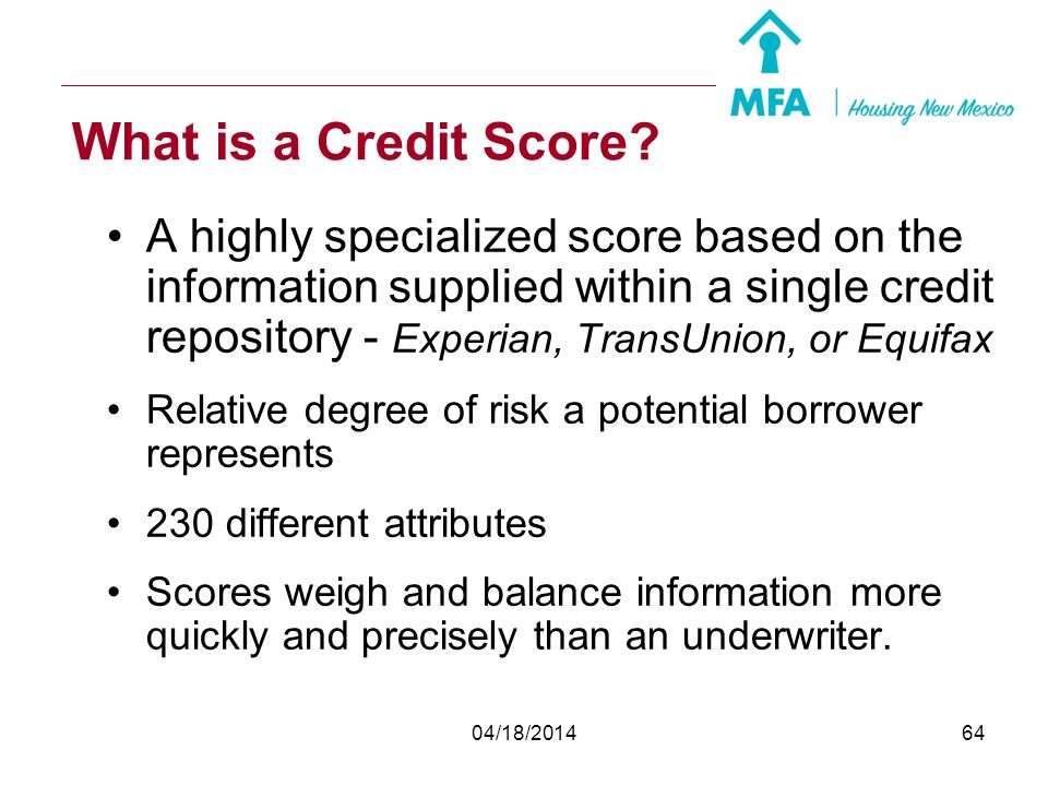What is a Credit Score