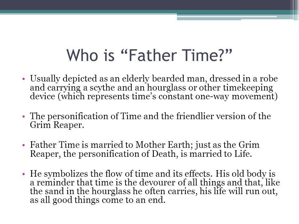 Who is Father Time