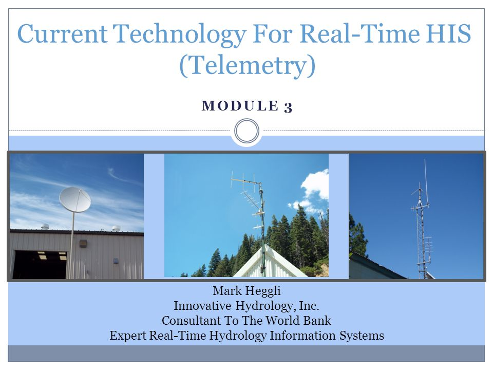 Current Technology For Real-Time HIS (Telemetry)