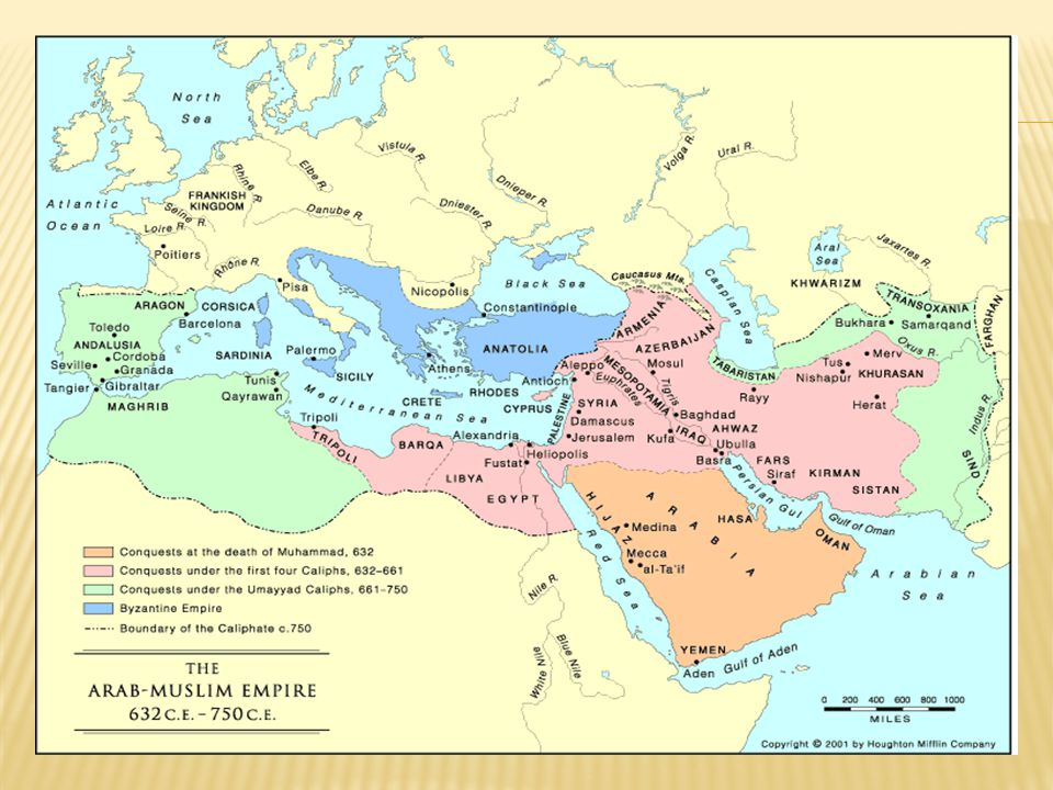 Seven Dominions of Umayyads