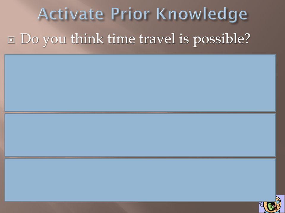 Activate Prior Knowledge