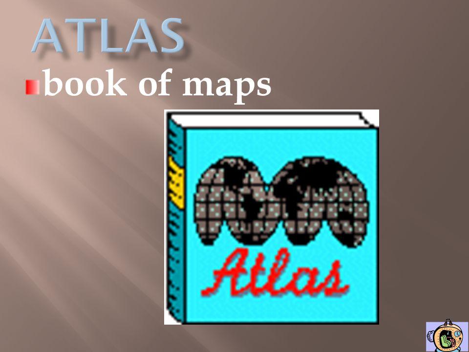 atlas book of maps