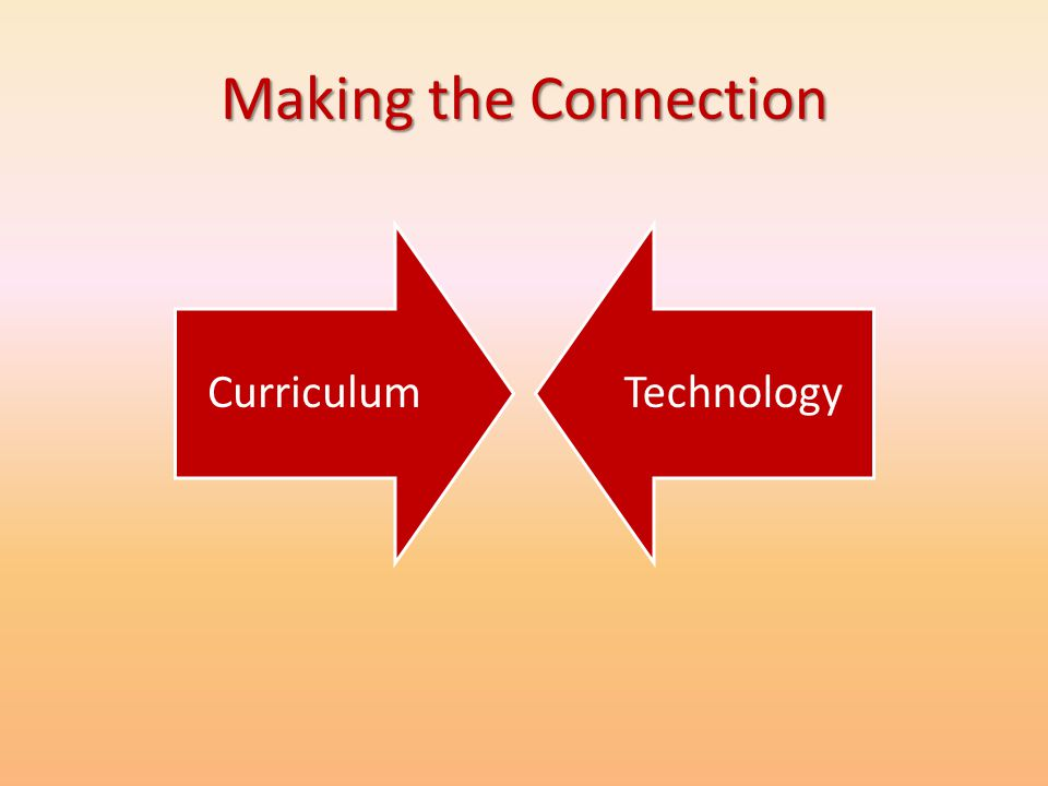 Making the Connection Curriculum Technology