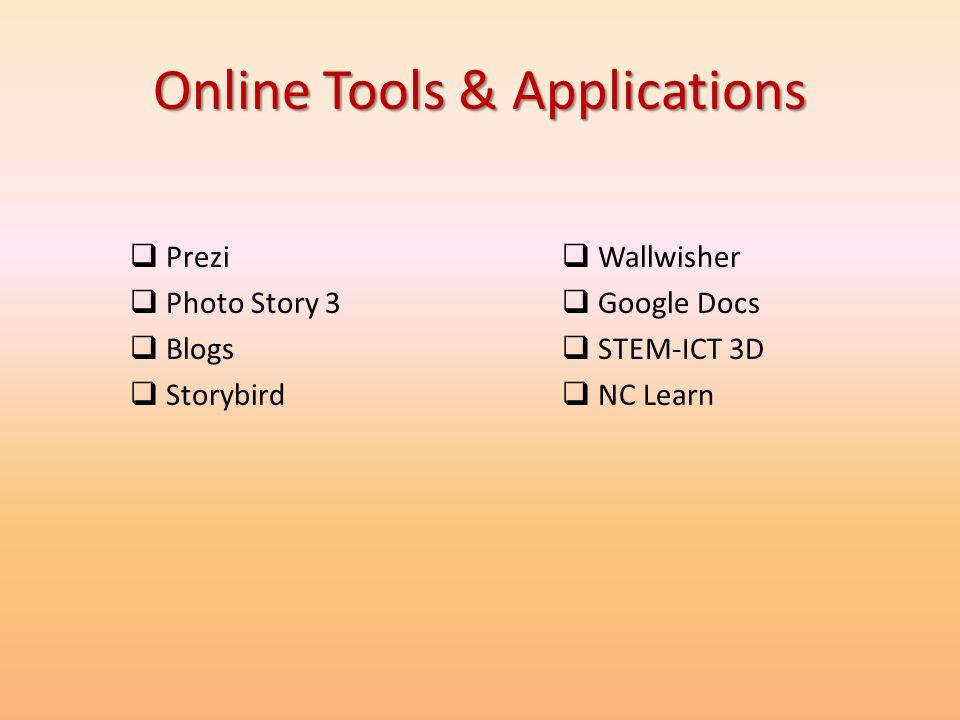 Online Tools & Applications