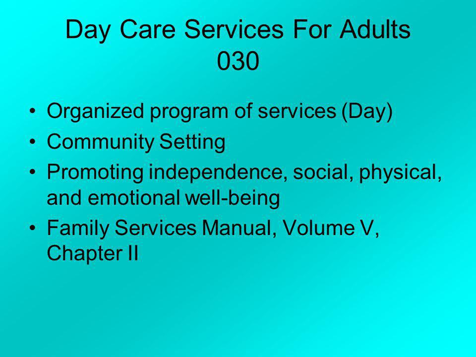 Day Care Services For Adults 030