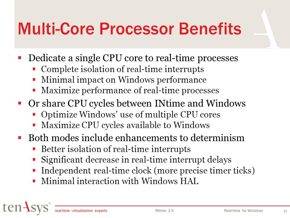 Multi-Core Processor Benefits