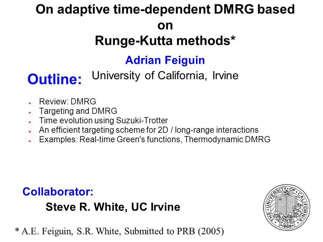 On adaptive time-dependent DMRG based on Runge-Kutta methods
