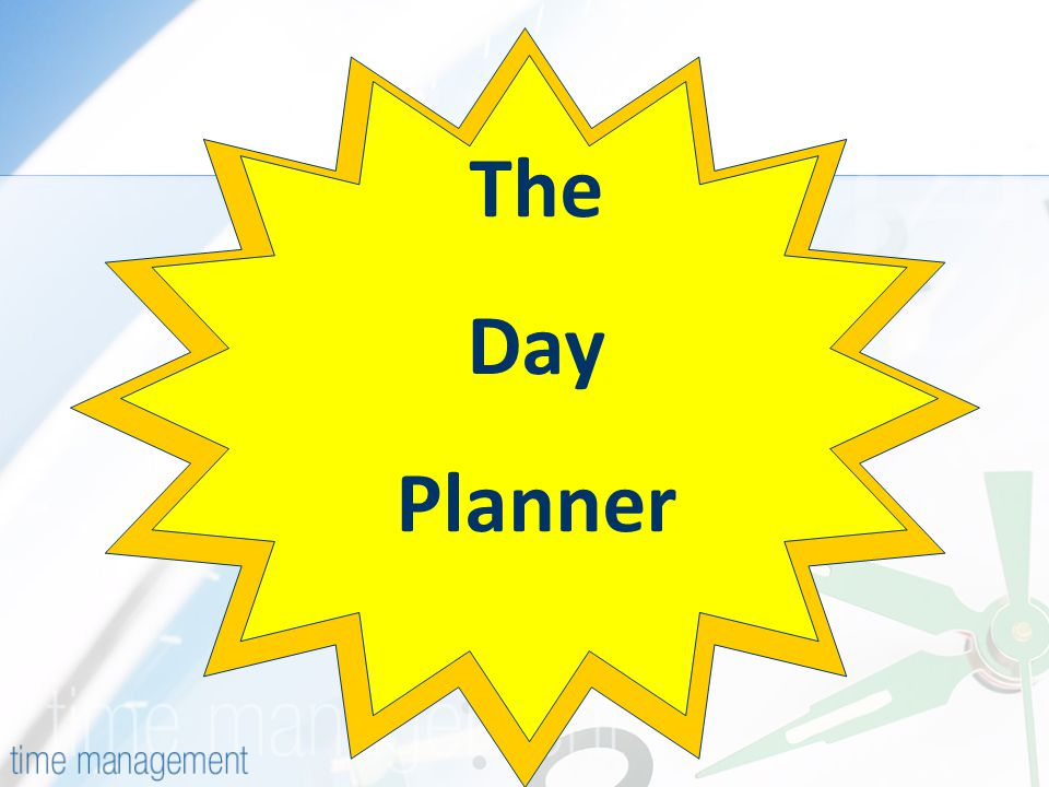 The Day Planner
