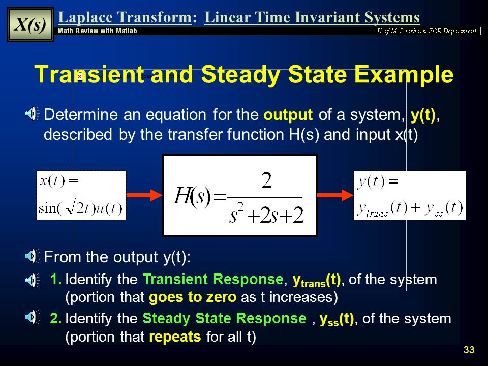 Transient and Steady State Example