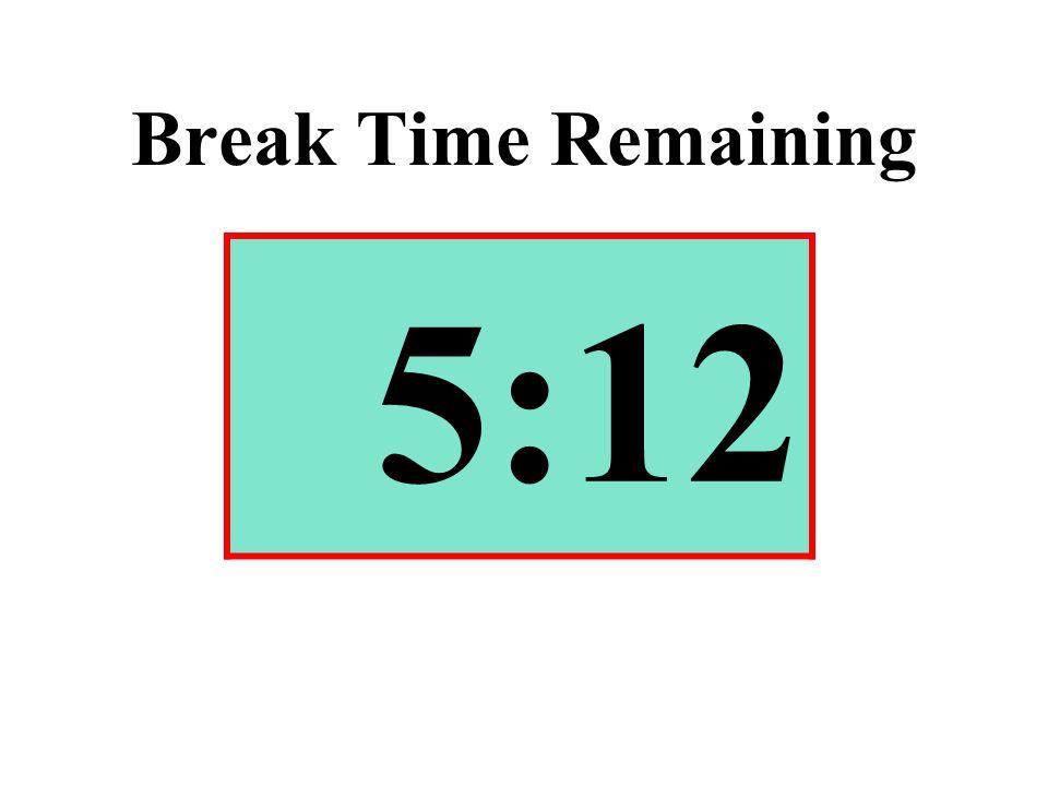 Break Time Remaining 5:12