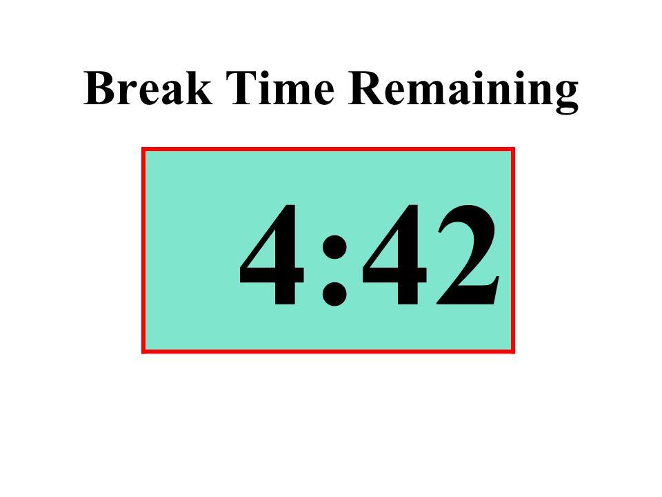 Break Time Remaining 4:42