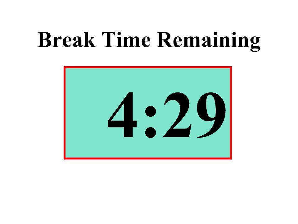 Break Time Remaining 4:29