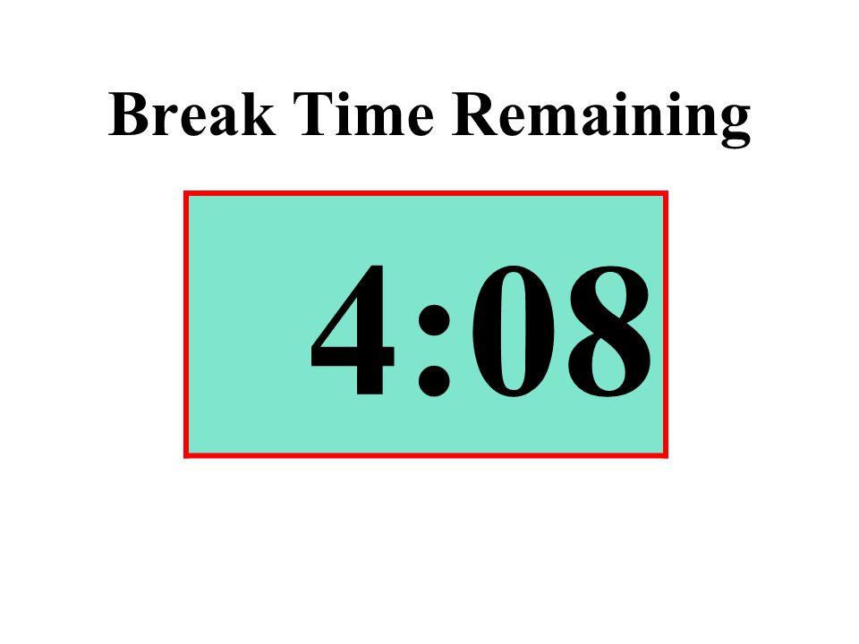 Break Time Remaining 4:08