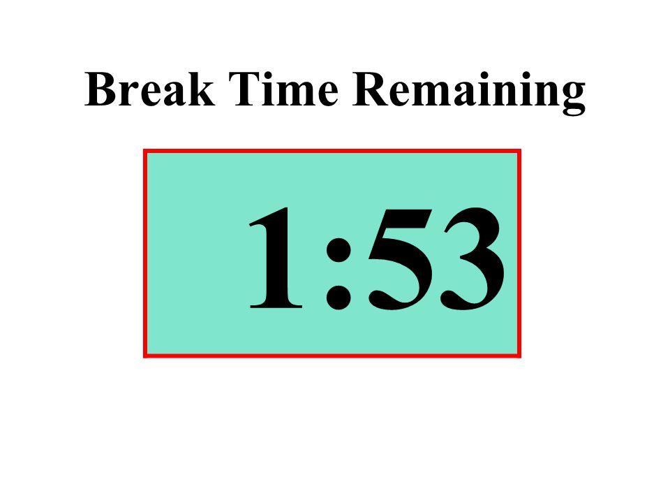 Break Time Remaining 1:53