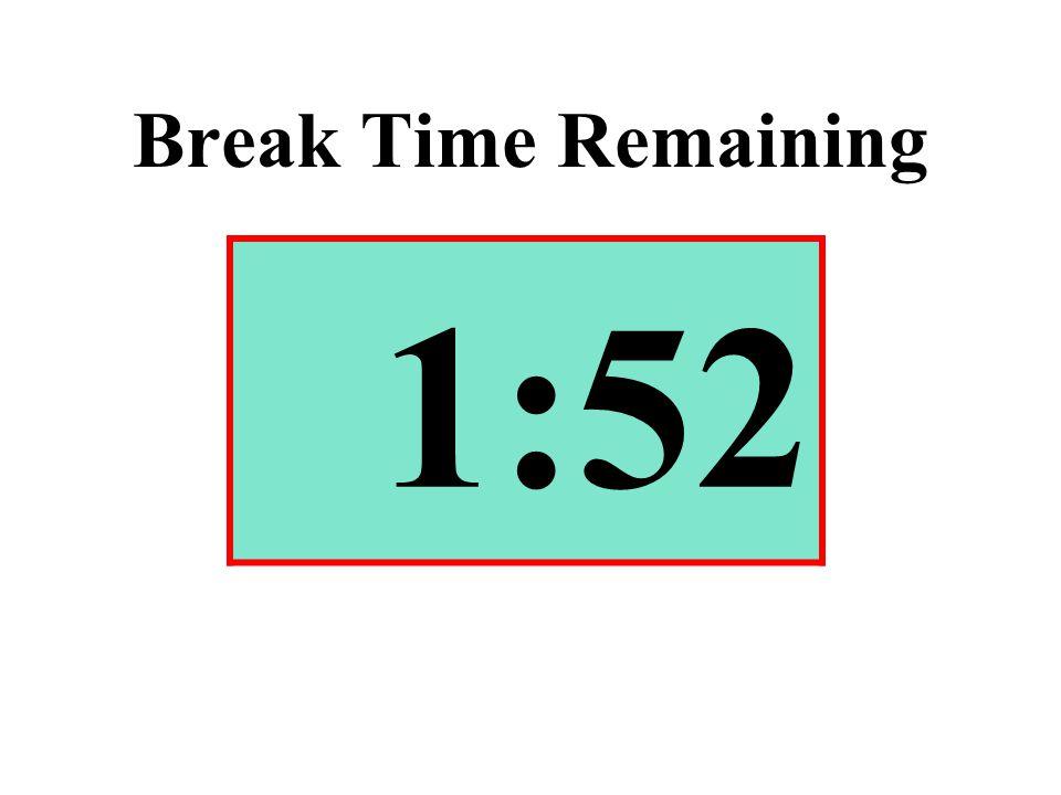 Break Time Remaining 1:52