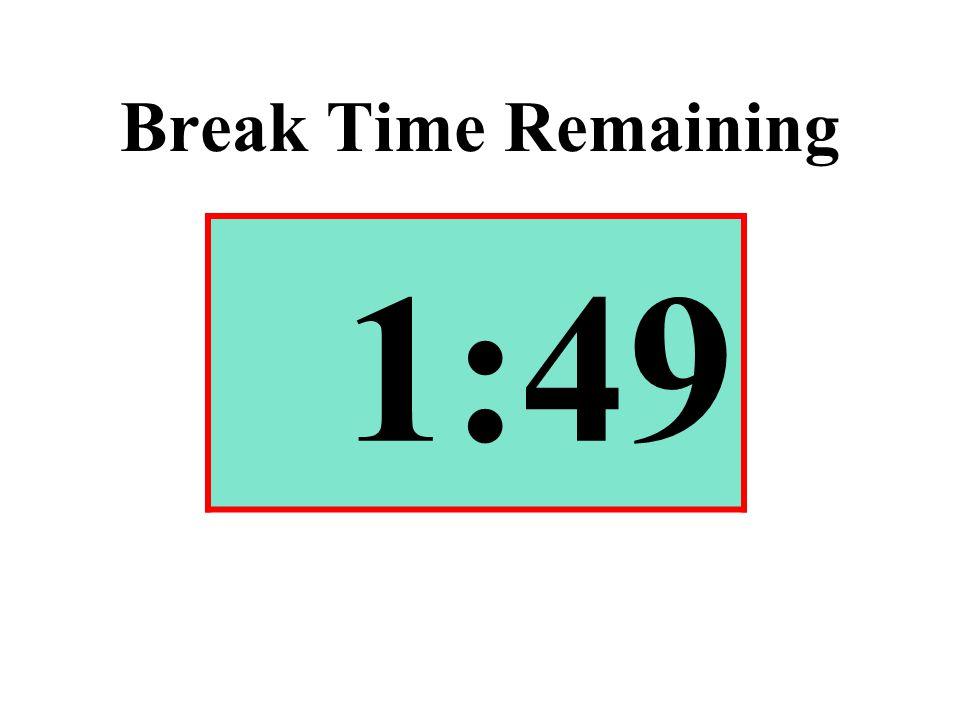 Break Time Remaining 1:49