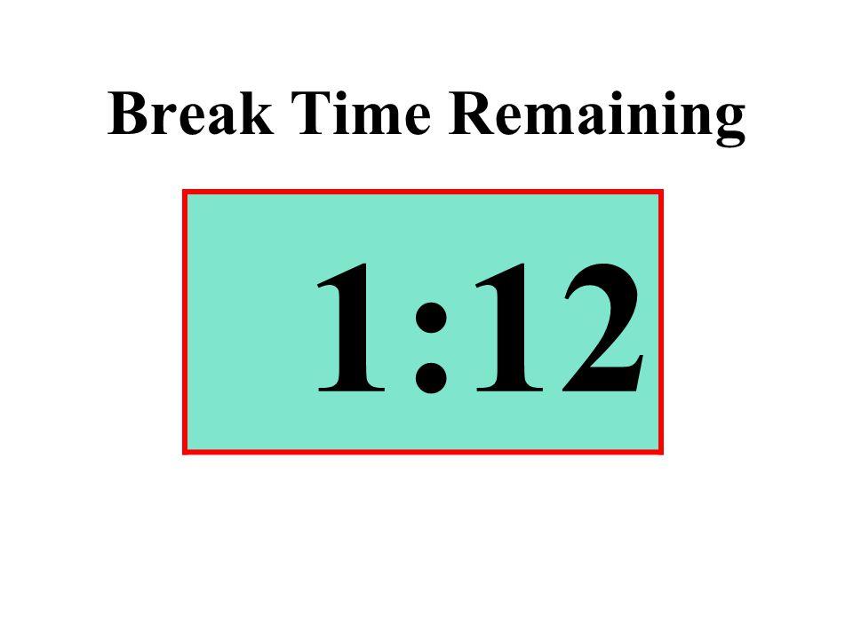 Break Time Remaining 1:12