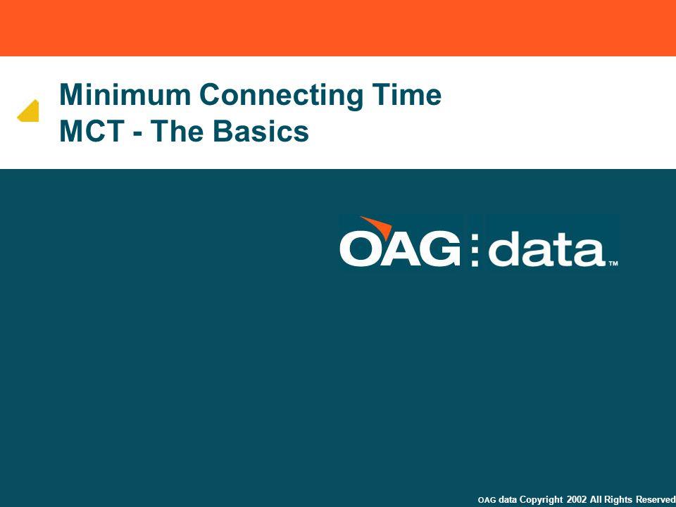Minimum Connecting Time MCT - The Basics