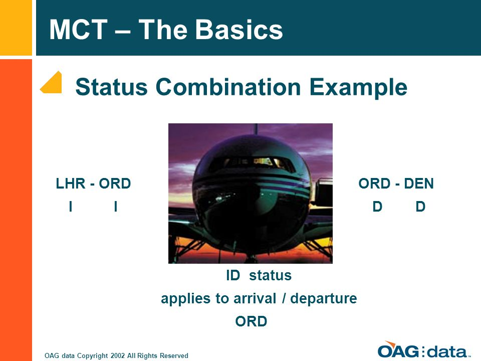 Status Combination Example