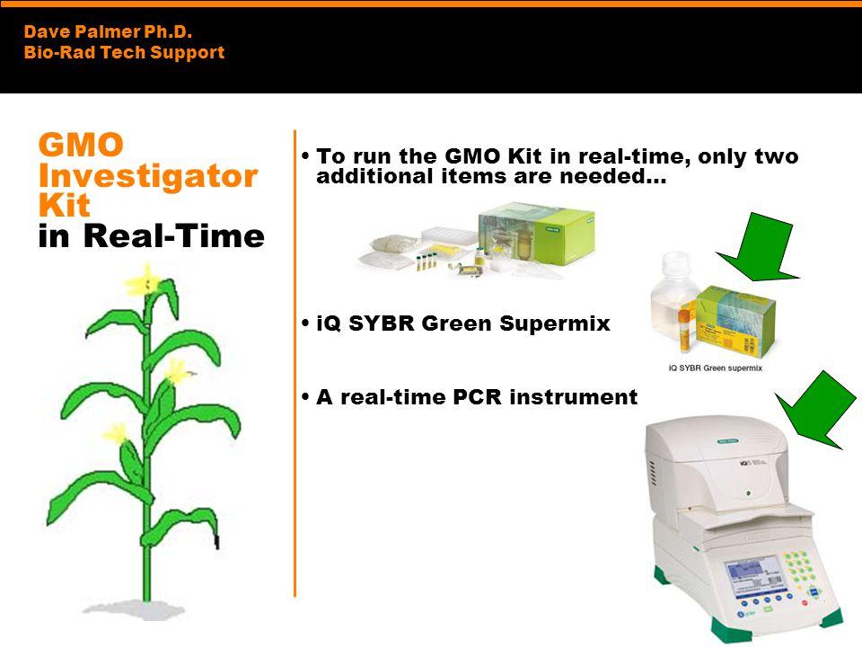 GMO Investigator Kit in Real-Time