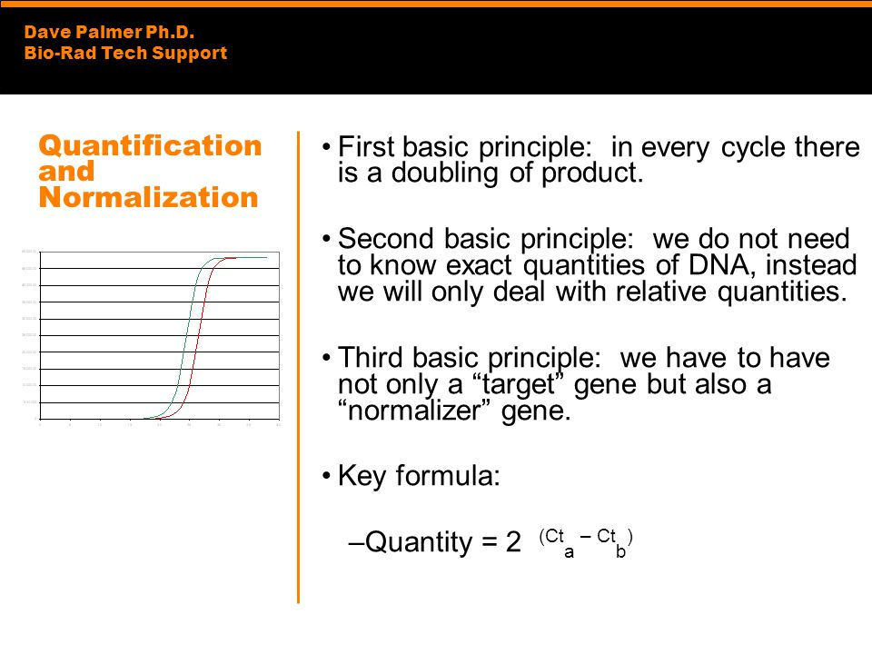 Quantification and Normalization