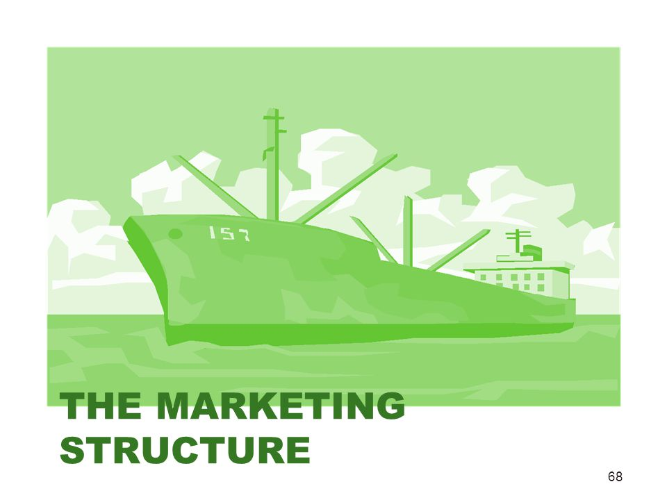 THE MARKETING STRUCTURE