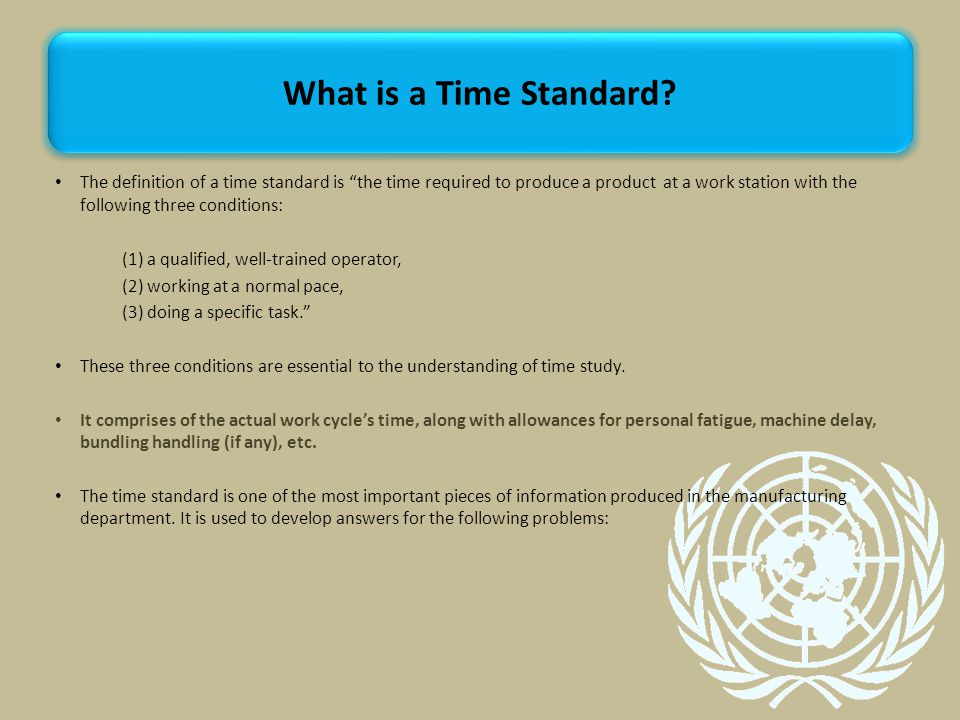 What is a Time Standard
