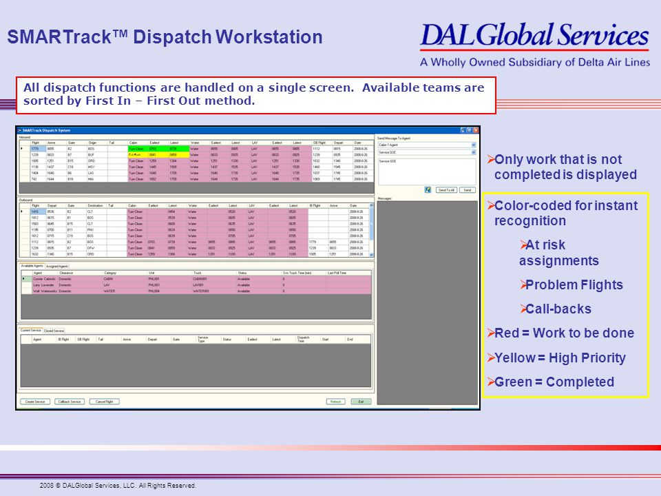 SMARTrack™ Dispatch Workstation