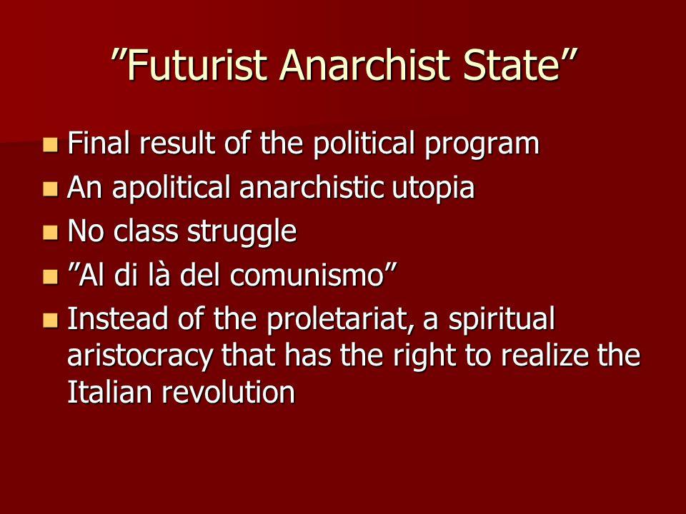 Futurist Anarchist State