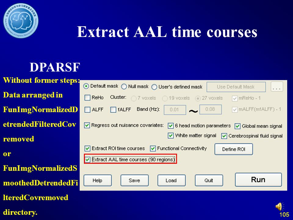 Extract AAL time courses