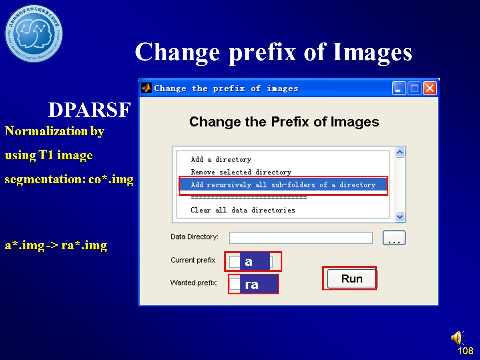 Change prefix of Images