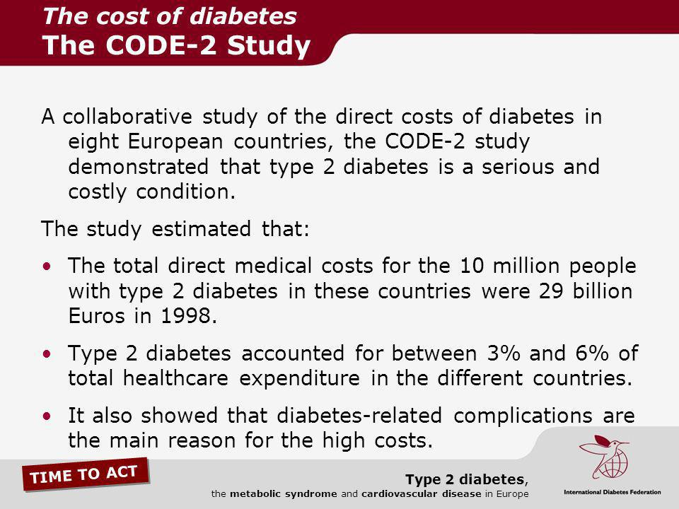 The cost of diabetes The CODE-2 Study