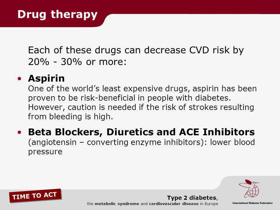 Each of these drugs can decrease CVD risk by 20% - 30% or more:
