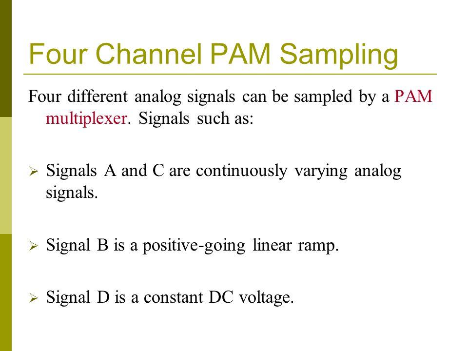 Four Channel PAM Sampling