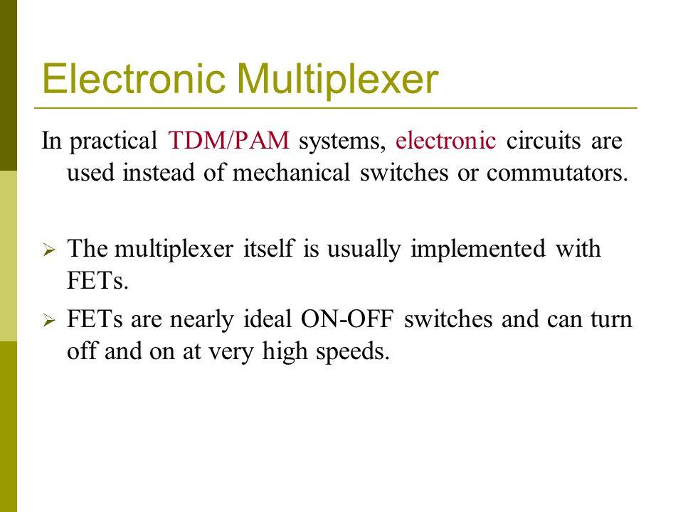 Electronic Multiplexer