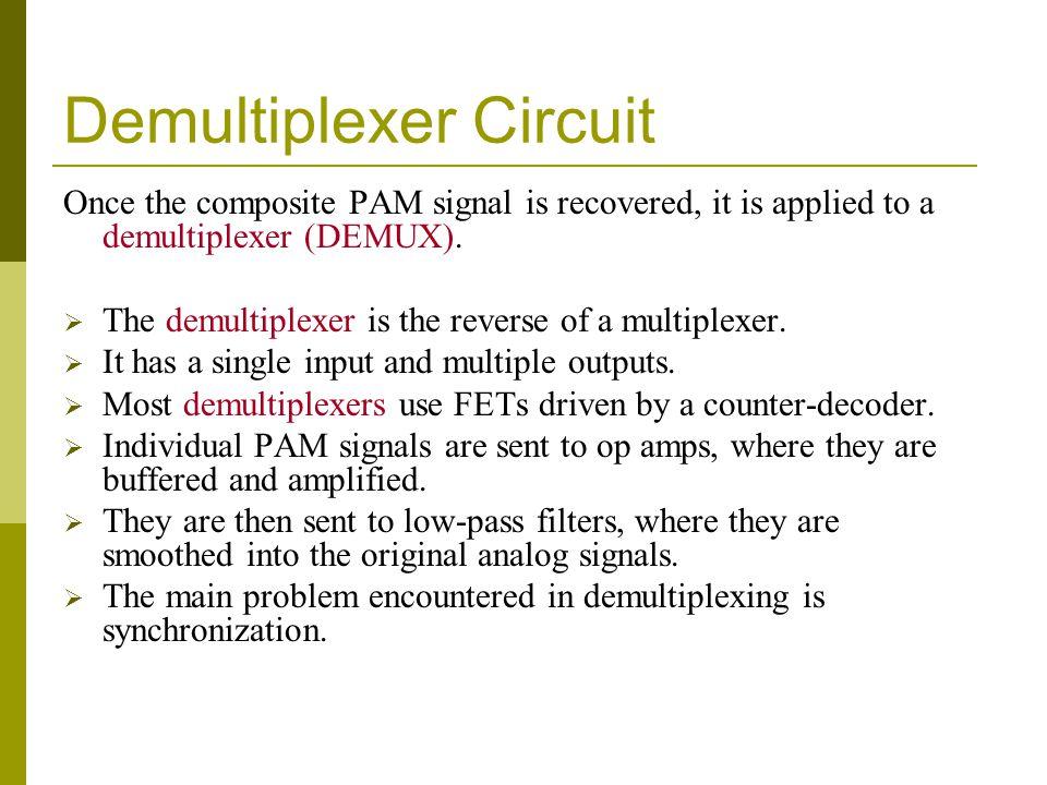 Demultiplexer Circuit