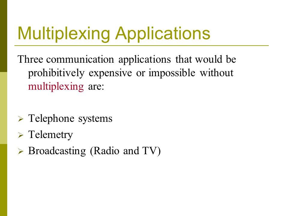 Multiplexing Applications