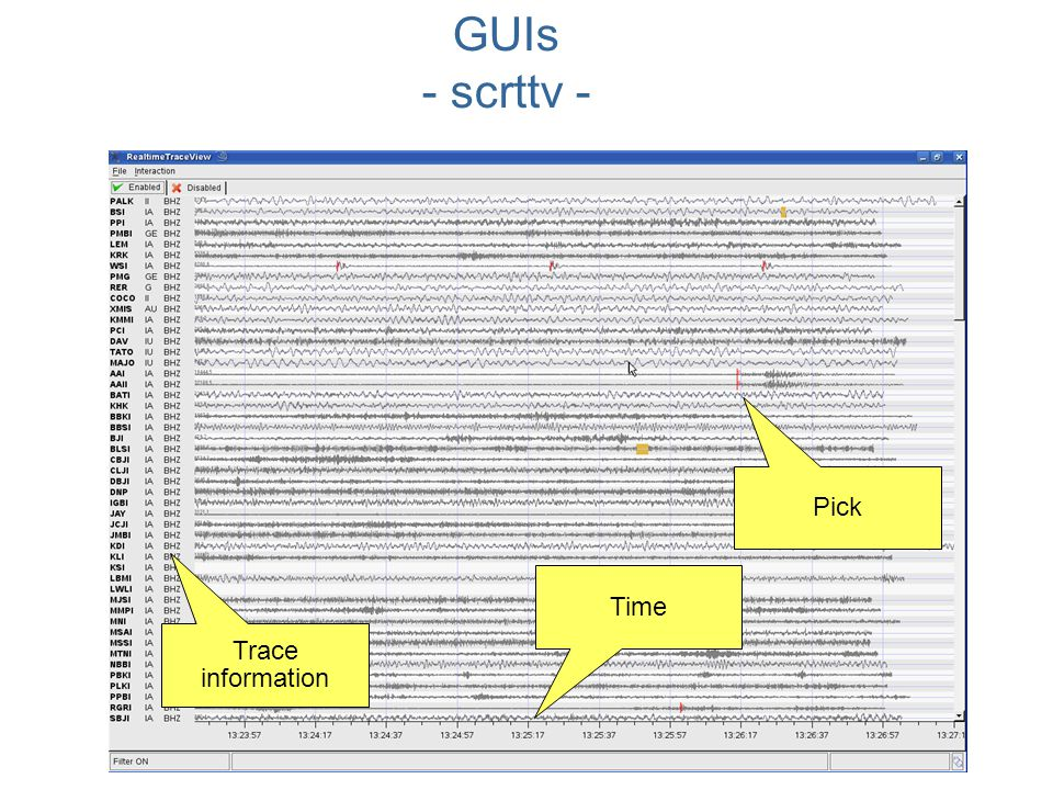 GUIs - scrttv - Pick Time Trace information