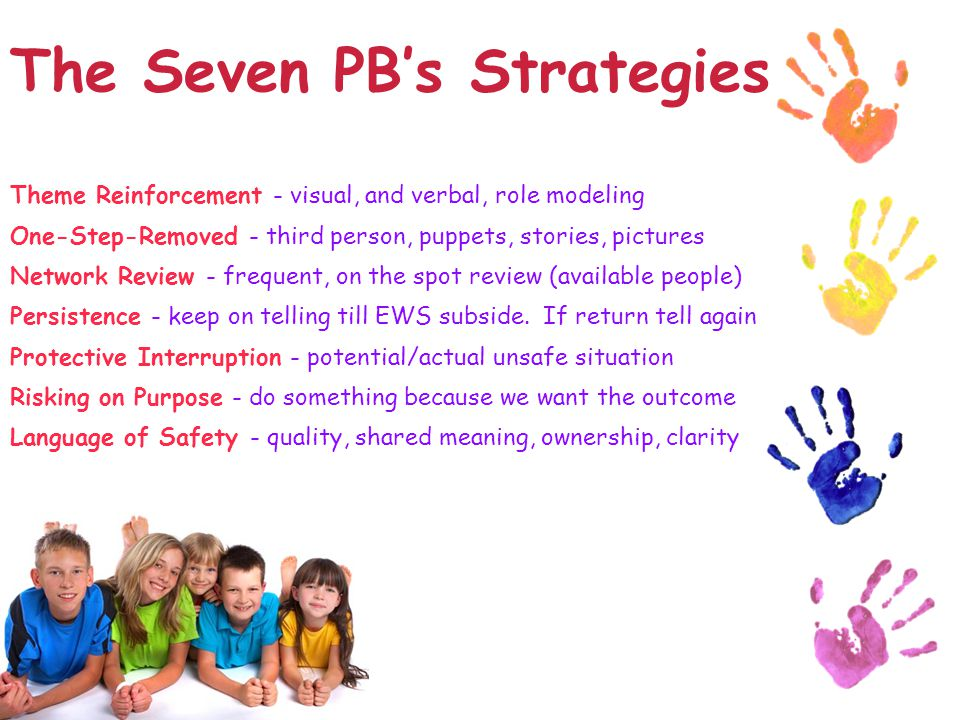 The Seven PB's Strategies