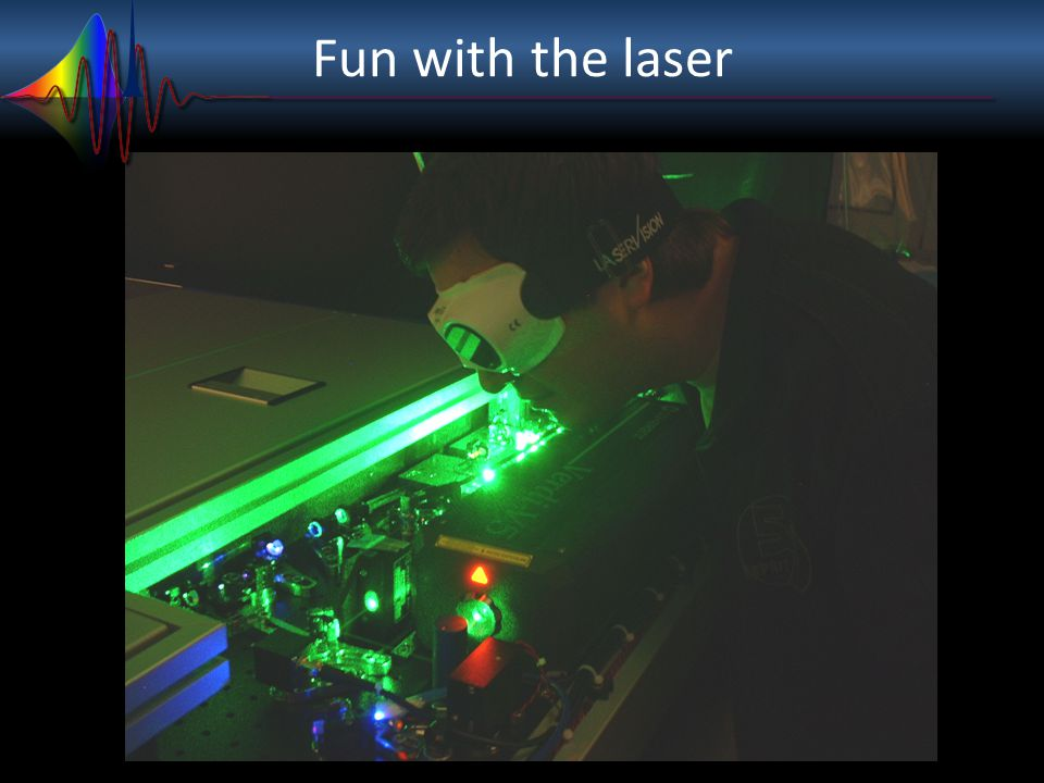 Fun with the laser