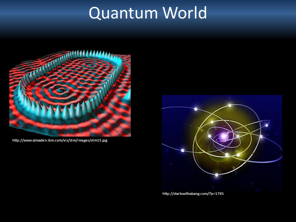 Quantum World http://www.almaden.ibm.com/vis/stm/images/stm15.jpg